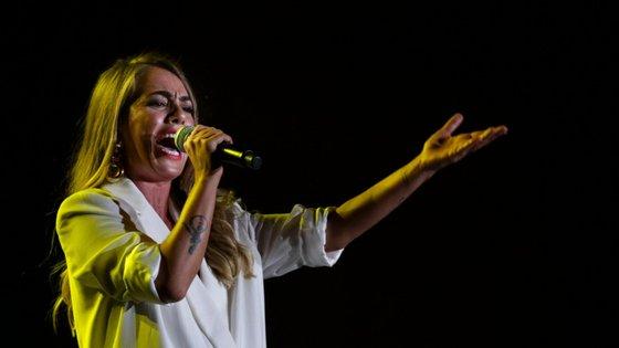 Gisela João atuará no festival, mas sem aviso prévio de dia, hora ou local
