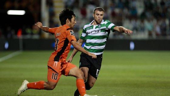 Na quarta-feira, a formação 'leonina' defronta o FC Rapperswill-Jona