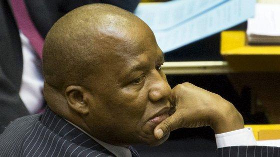 O Presidente sul-africano, Cyril Ramaphosa, é também presidente do Congresso Nacional Africano.