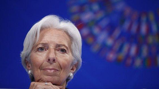 Christine Lagarde poderá tornar-se a primeira líder feminina do BCE