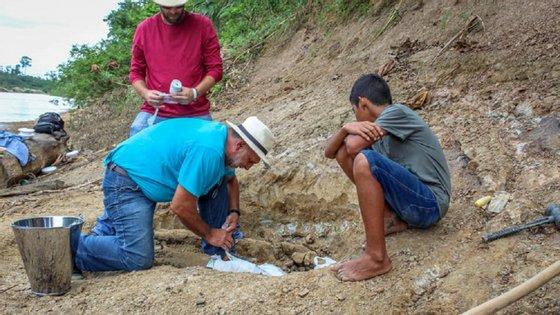 O fóssil foi encontrado completo e sem fraturas
