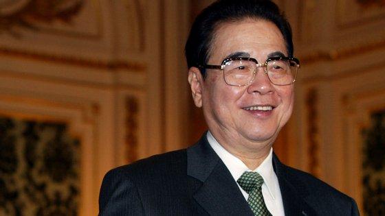 Li Peng foi primeiro-ministro de 1987 a 1998