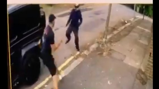 Imagens de video-vigilância mostram parte do ataque
