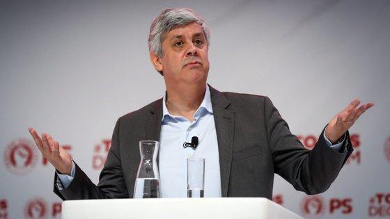 Mário Centeno é ministro das Finanças e líder do eurogrupo