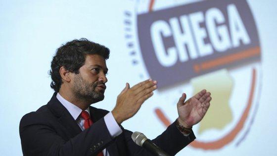 André Ventura lidera o partido Chega