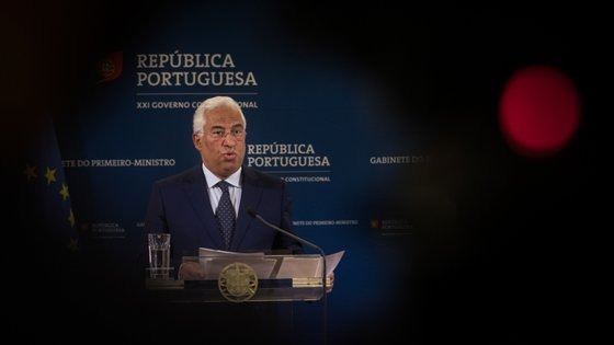 António Costa prestou declarações após a reunião de emergência realizada no Palácio de São Bento