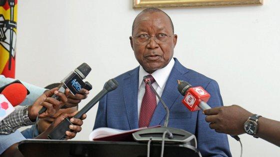 """Reunião na qual o ministro discursava vai durar três dias e decorre sob o lema """"Setor da defesa na vanguarda da paz efetiva, unidade nacional e desenvolvimento nacional"""""""