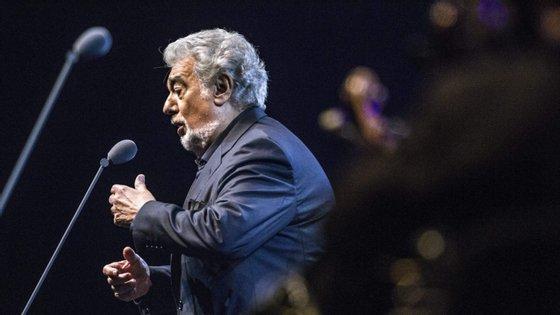 Plácido Domingo, de 78 anos, é um dos cantores de ópera mais consagrados do mundo