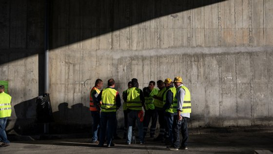 A greve dos motoristas de matérias perigosas teve início na segunda-feira