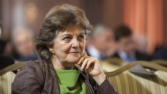 Elisa Ferreira é administradora do Banco de Portugal desde 2016, vice-governadora do Banco de Portugal desde setembro de 2017