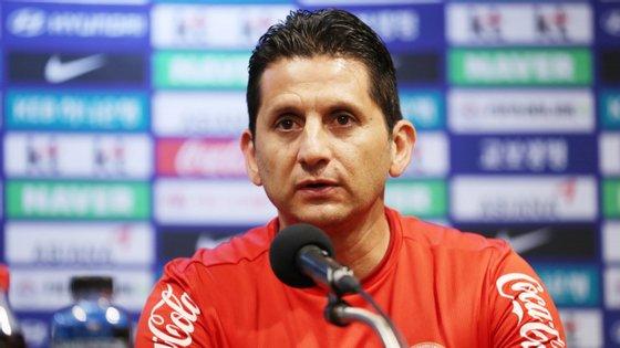 Ronald González disputou o Mundial de 1990 como jogador