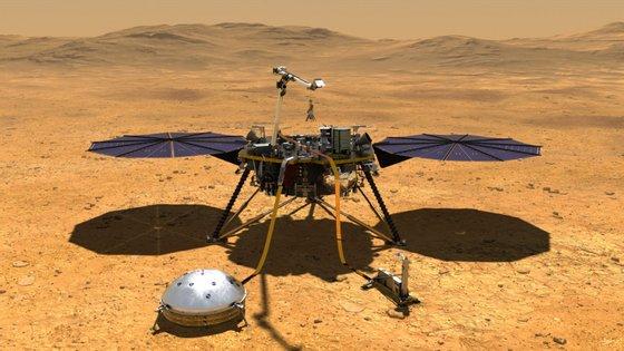 A sonda InSight detetou o primeiro sismo em Marte em abril, quatro meses depois de ter chegado ao planeta.