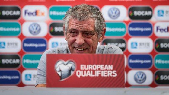 Fernando Santos anunciou 25 convocados para os próximos dois jogos de qualificação para o Europeu, com algumas alterações