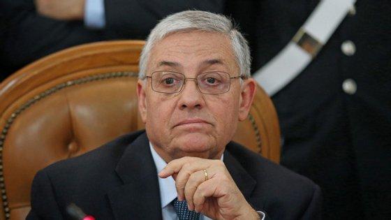 Giuseppe Pignatone retirou-se em maio como procurador-chefe de Roma