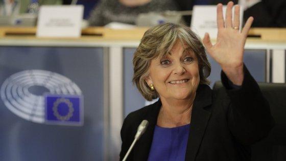 Elisa Ferreira foi ouvida pelos eurodeputados na quarta-feira para poder ser comissária europeia