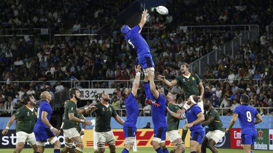 A África do Sul vai agora tentar carimbar o apuramento para os quartos de final frente ao Canadá
