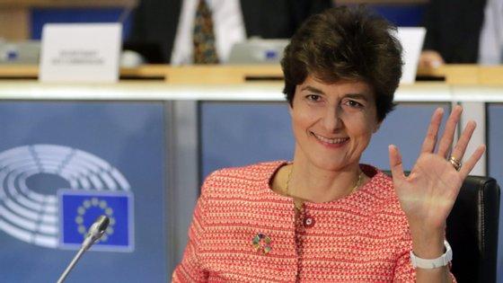 Sylvie Goulard tem até terça-feira para responder às perguntas