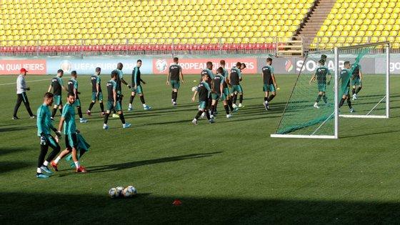 Os campeões europeus recebem o Luxemburgo em 11 de outubro, no Estádio José Alvalade, em Lisboa
