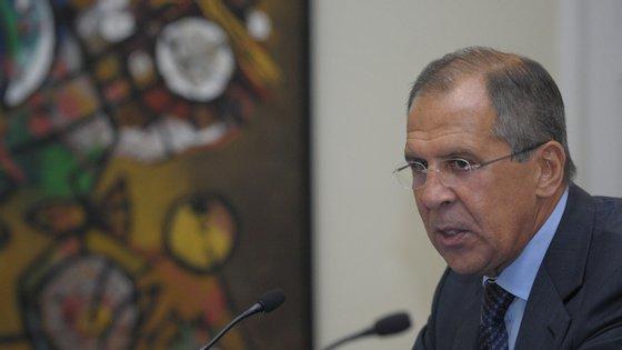 Ministro dos Negócios Estrangeiros russo, Serguei Lavrov, referia-se à esperada intervenção militar turca