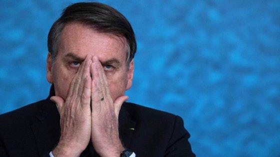"""""""Esquece o PSL, tá ok? Esquece"""", disse Jair Bolsonaro a um apoiante"""