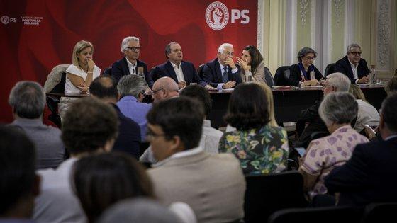 António Costa reuniu-se com a Comissão Política do PS para analisar resultados das legislativas