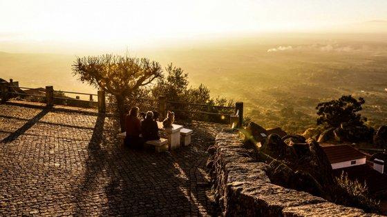 A aldeia histórica de Monsanto é um dos principais pontos turisticos da Beira Baixa.