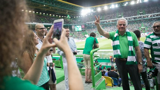 O anterior candidato à presidência do clube concorreu ao último ato eleitoral, ganho precisamente por Frederico Varandas