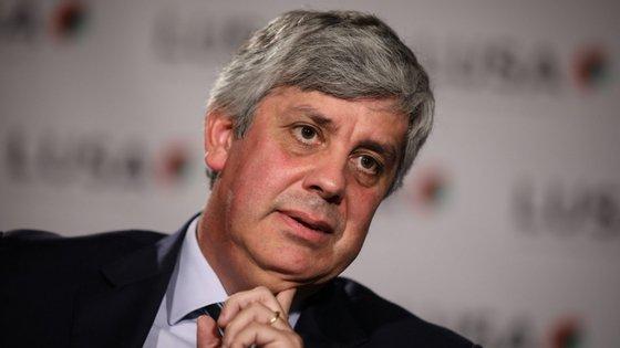 Em conversa com a Folha de São Paulo, Mário Centeno debruçou-se, principalmente, sobre assuntos de política financeira externa.