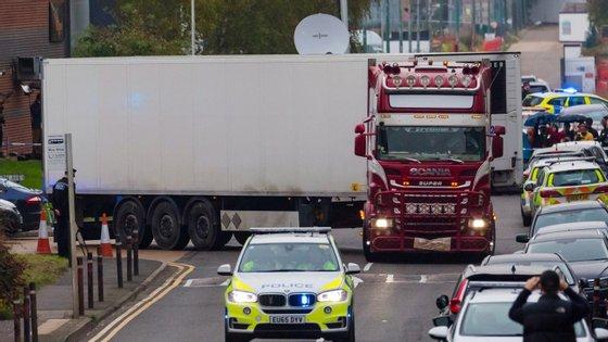Condutor do camião ficou em prisão preventiva