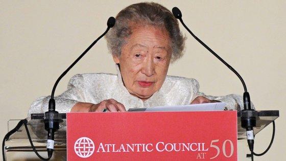 A japonesa tornou-se a primeira mulher a receber, em nome do ACNUR, o Prémio Príncipe das Astúrias da Cooperação Internacional, no primeiro ano em exercício