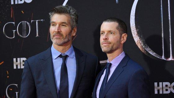 David Benioff e D.B. Weiss estão neste momento envolvidos em projetos da Netflix