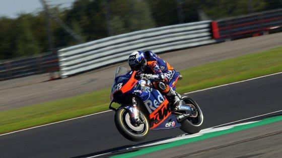 O piloto de Almada vai prosseguir com a recuperação para tentar estar apto para a prova de encerramento da temporada