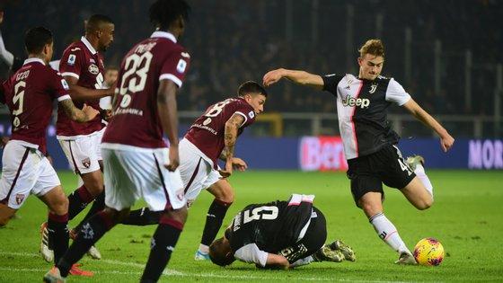O central estreou-se a marcar pela equipa italiana