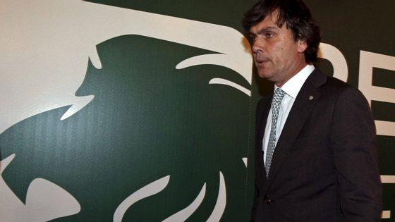 """""""Estarei sempre disponível a arranjar soluções que acho mais convenientes para o Sporting"""", disse Pedro Baltazar"""