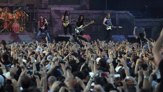 Os Iron Maiden são uma das bandas de heavy metal mais famosas do mundo