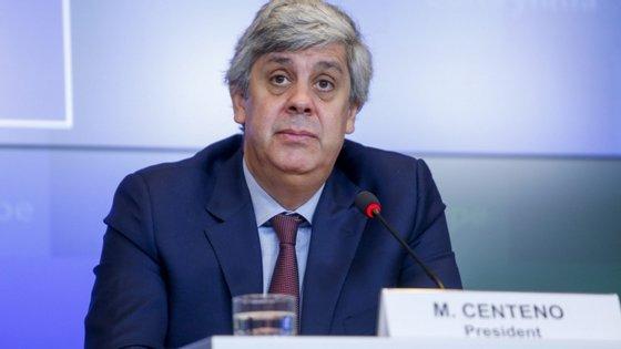 O ministro das Finanças recordou que o executivo comunitário errou nas projeções para este ano