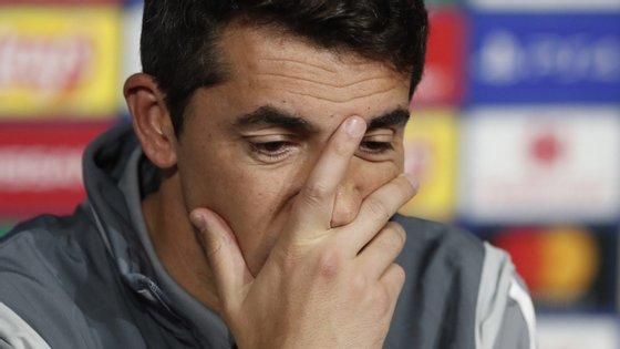 A conferência de imprensa foi dominada pelo mau desempenho do Benfica na Champions