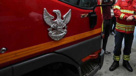 O acidente ocorreu na Avenida Marcos Portugal, na Amora