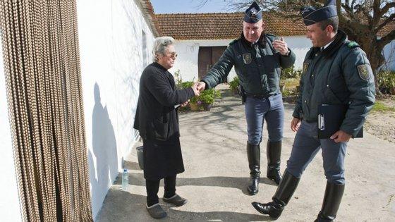 A GNR sinalizou idosos que vivem sozinhos e/ou isolados ou em situação de vulnerabilidade