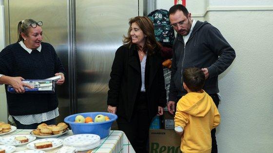 A ministra do Trabalho, Solidariedade e Segurança Social falava à agência Lusa durante uma visita à associação de apoio a pessoas em situação de sem-abrigo João 13.