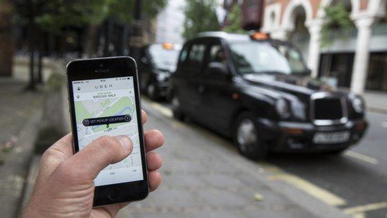 A Uber tem cerca de 45 mil motoristas a conduzir em Londres