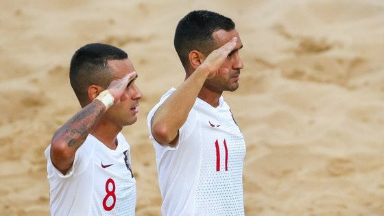 Bê Martins e Leo Martins, os gémeos da Seleção Nacional, apontaram os dois golos que colocaram Portugal nos quartos do Mundial