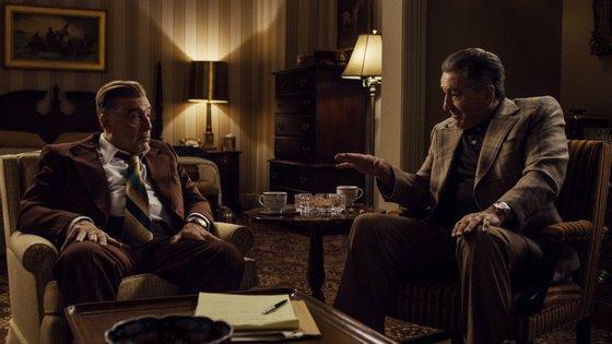 """Al Pacino, Robert De Niro são os protagonistas de """"O Irlandês"""", que está na Netflix a partir desta quarta-feira, 27 de novembro"""