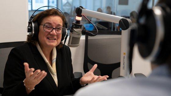 Ana Paula Zacarias, secretária de Estado dos Assuntos Europeus, esteve esta quarta-feira no Direto ao Assunto, da Rádio Observador