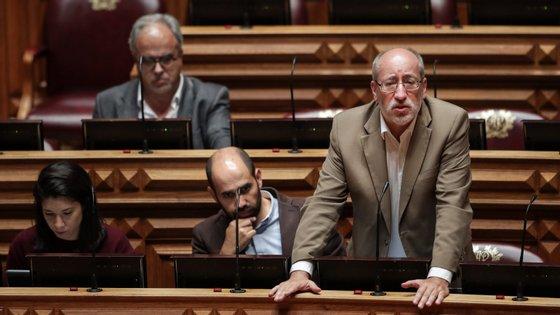 António Filipe disse que colocará a questão aos membros do CFSIRP, na audição conjunta da comissão de Assuntos Constitucionais e da Defesa Nacional