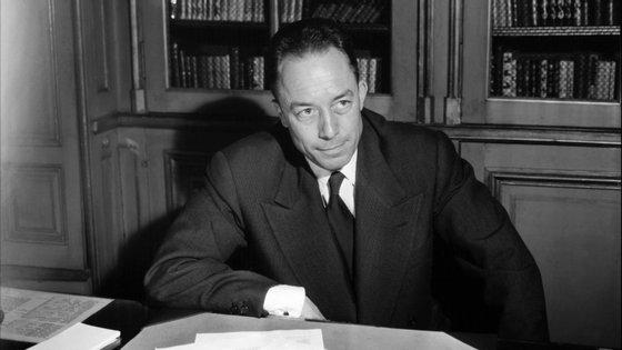 Albert Camus morreu há 60 anos num acidente de automóvel