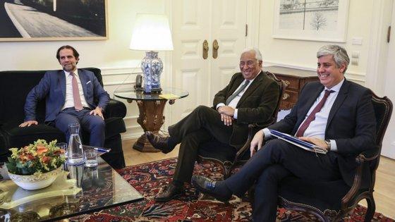 Miguel Albuquerque reuniu com António Costa e Mário Centeno a 20 de novembro