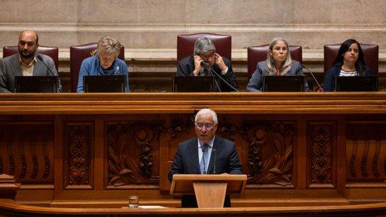 Debate quinzenal arrancou com tema escolhido pelo Governo: o orçamento da UE 2021-2027