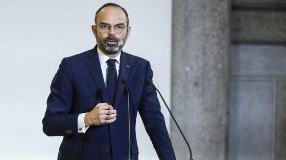 """""""Quero dizer-vos que esta refundação [do sistema de pensões] não é uma batalha"""", disse Édouard Philippe"""