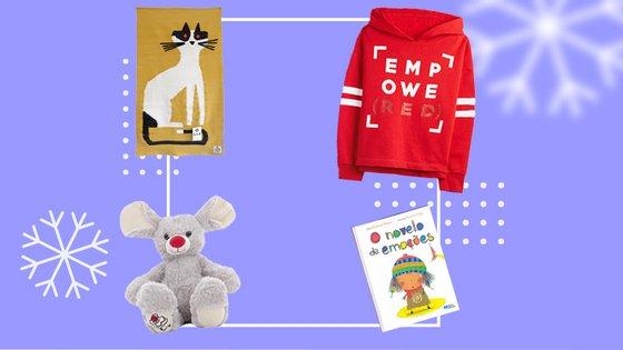 De uma mera contribuição de 20 euros a um donativo de 75 euros, veja a nossa lista de 10 presentes de Natal solidários